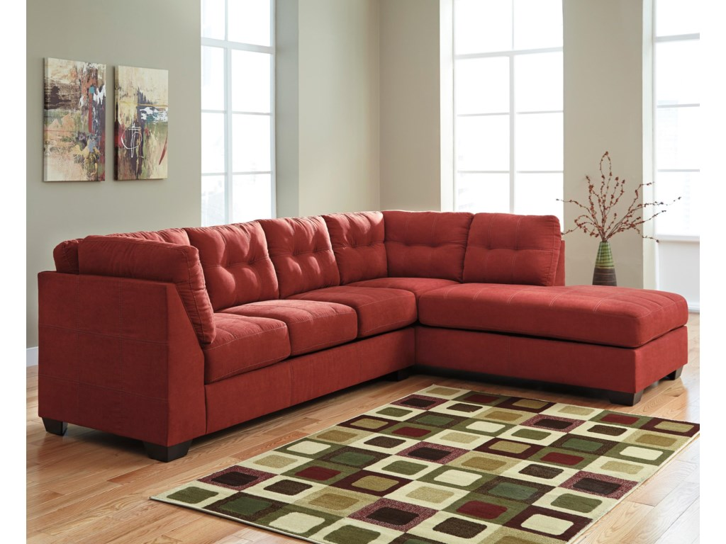 Benchcraft Maier - Sienna2-Piece Sectional with Right Chaise