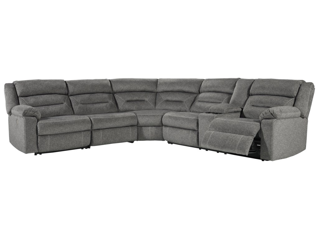 Benchcraft MalmaisonPower Reclining Sectional