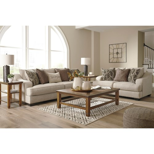 Benchcraft Marciana Stationary Living Room Group Standard