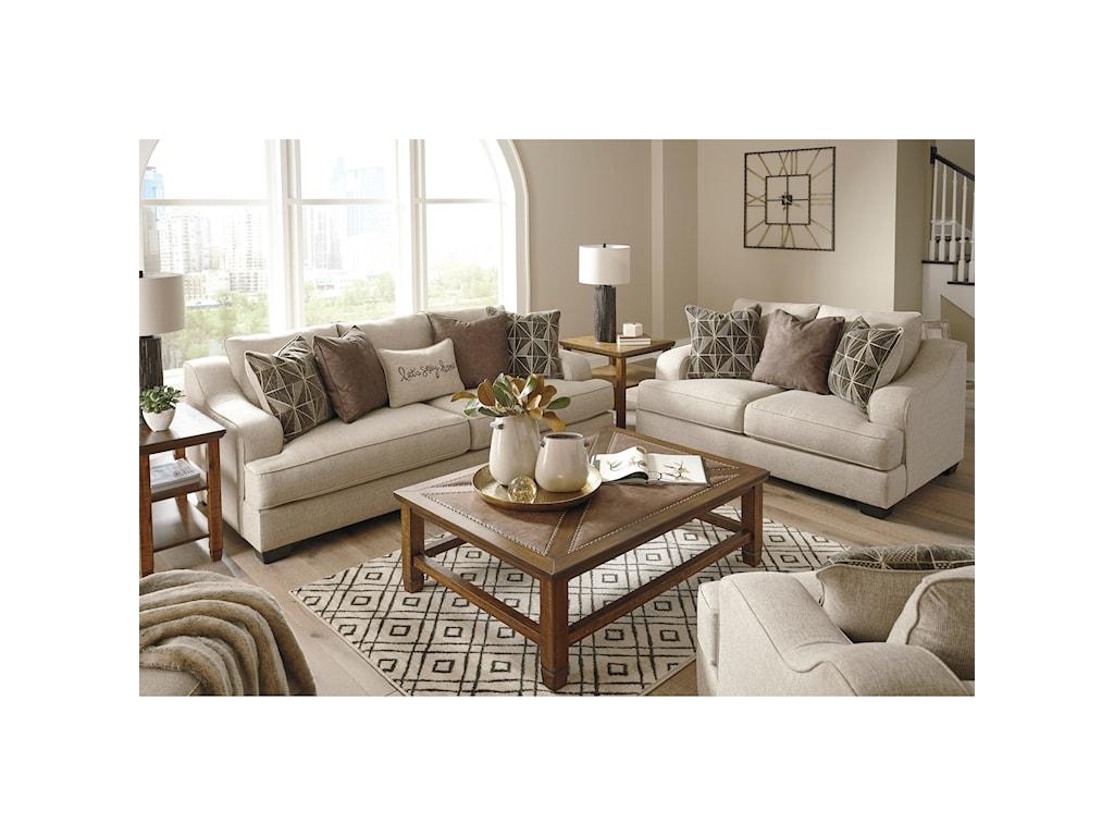 Benchcraft MarcianaStationary Living Room Group