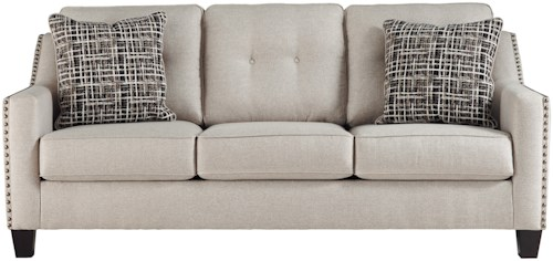 Benchcraft Marrero Contemporary Queen Sofa Sleeper