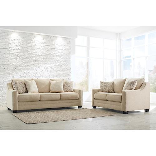 Benchcraft Mauricio Stationary Living Room Group