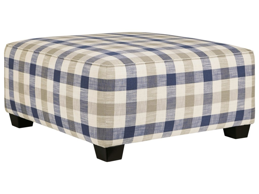 Benchcraft MeggettOversized Accent Ottoman