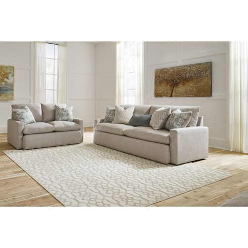 Benchcraft Melilla Stationary Living Room Group