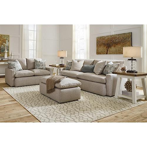 Benchcraft Melilla Stationary Living Room Group