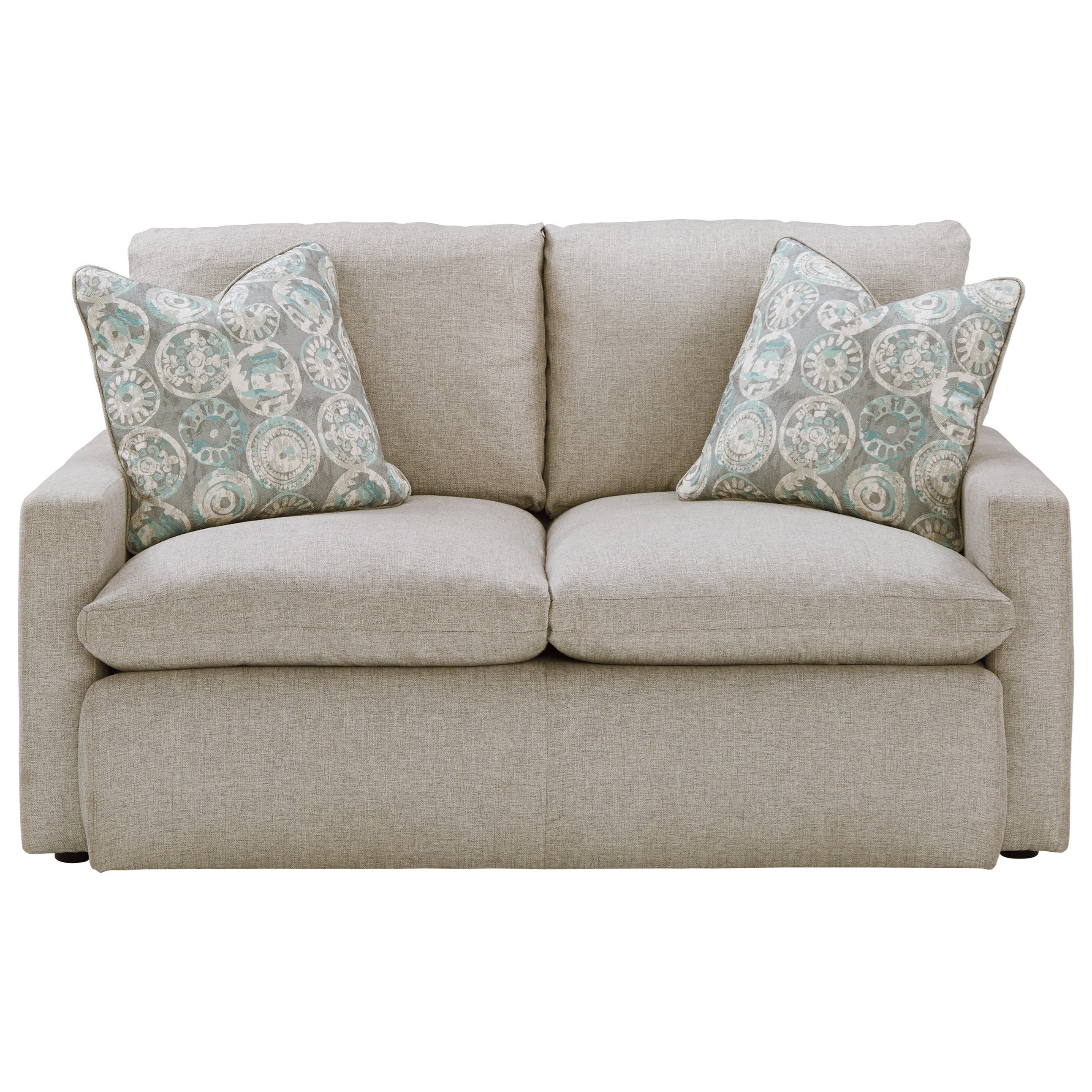 Benchcraft Melilla Loveseat With Feather Blend Cushions | Miskelly Furniture  | Love Seats