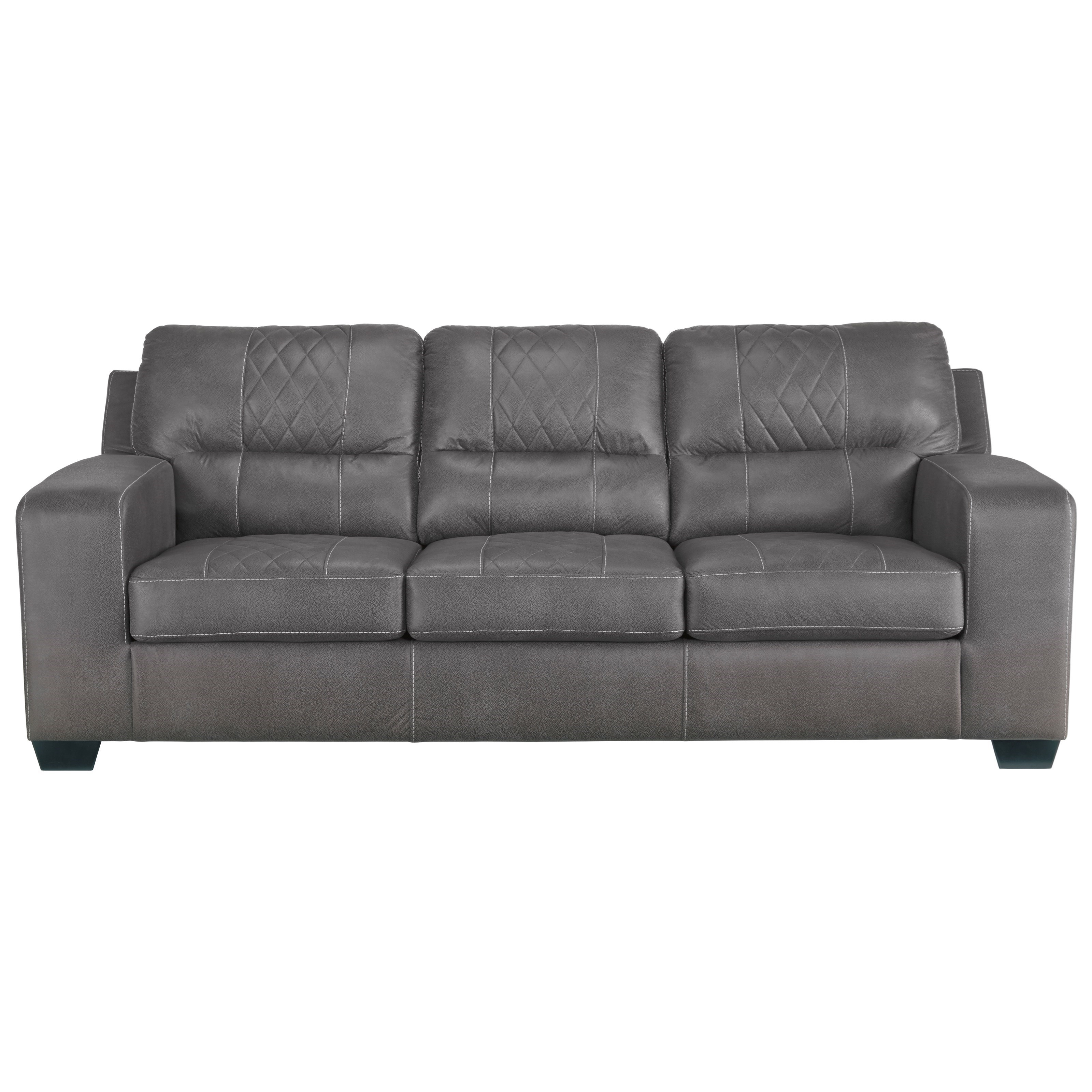 Benchcraft NarzoleSofa Sleeper With Queen Memory Foam Mattress ...