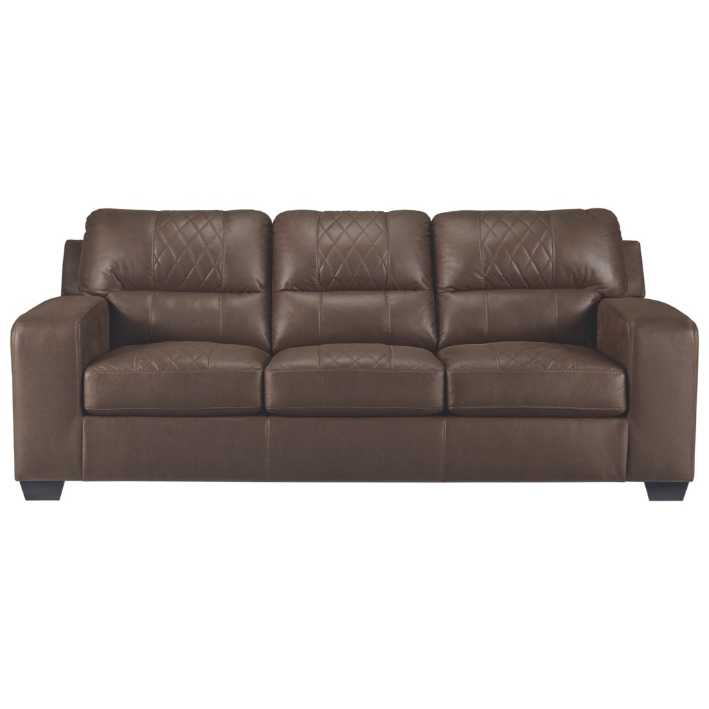 Benchcraft Narzole Contemporary Sofa Sleeper With Bi Fold Queen