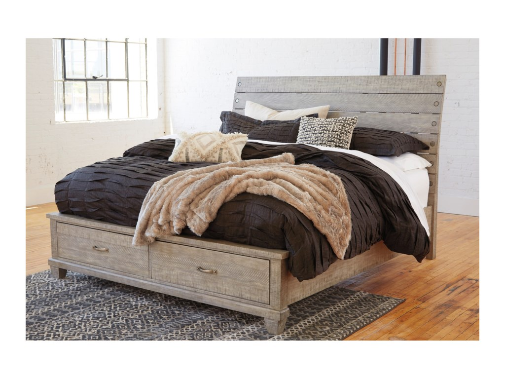 Benchcraft NaydellQueen Storage Bed