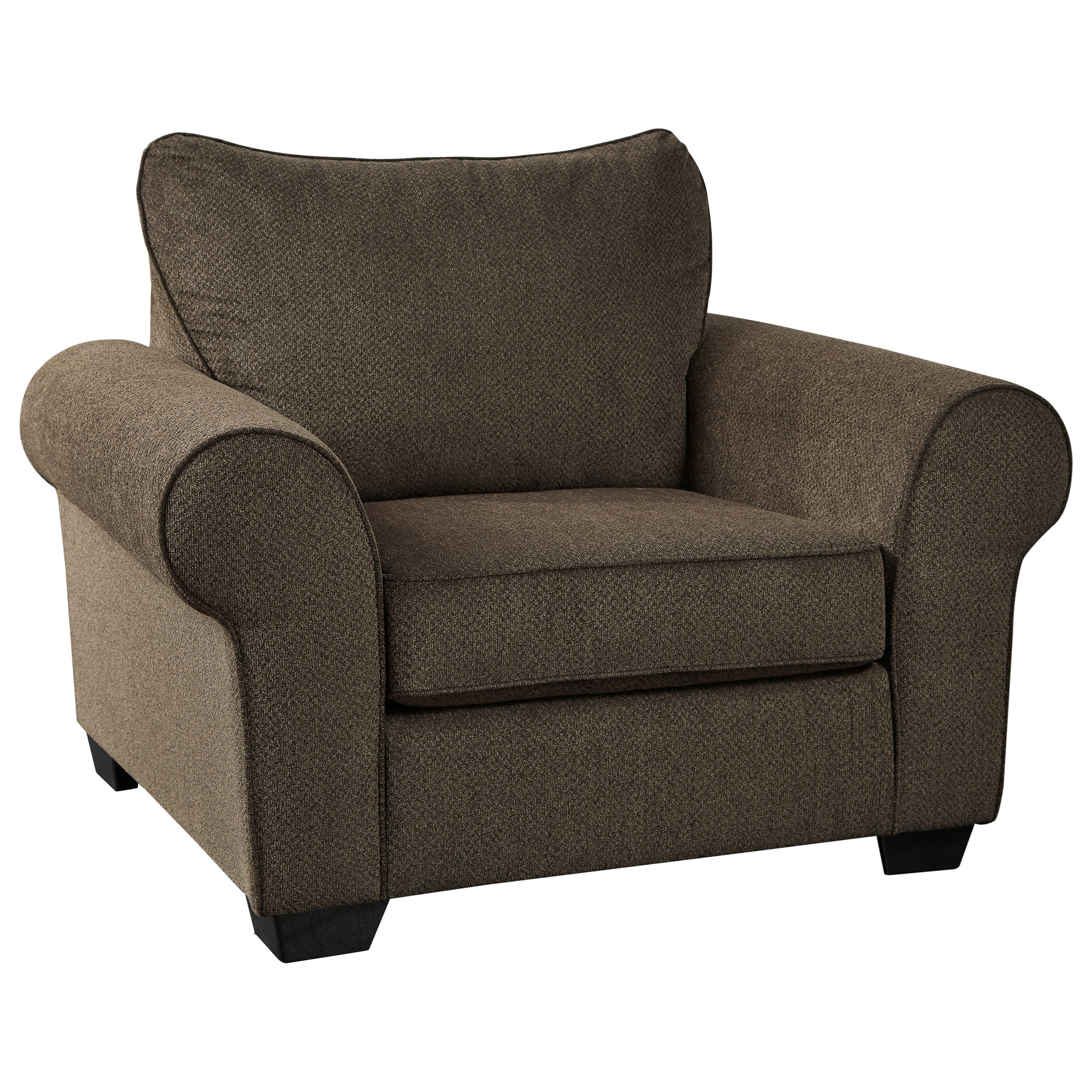 Chair & a Half with Rolled Arms