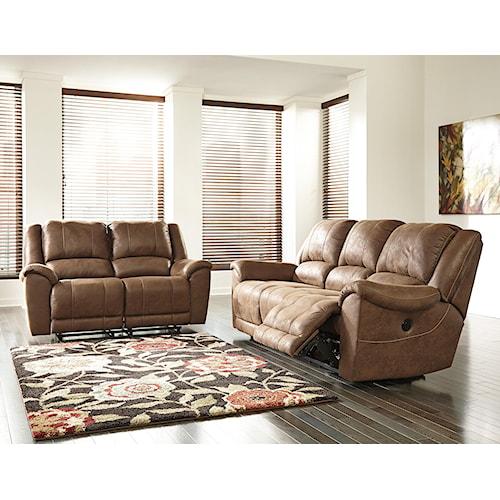 Benchcraft Niarobi Reclining Living Room Group