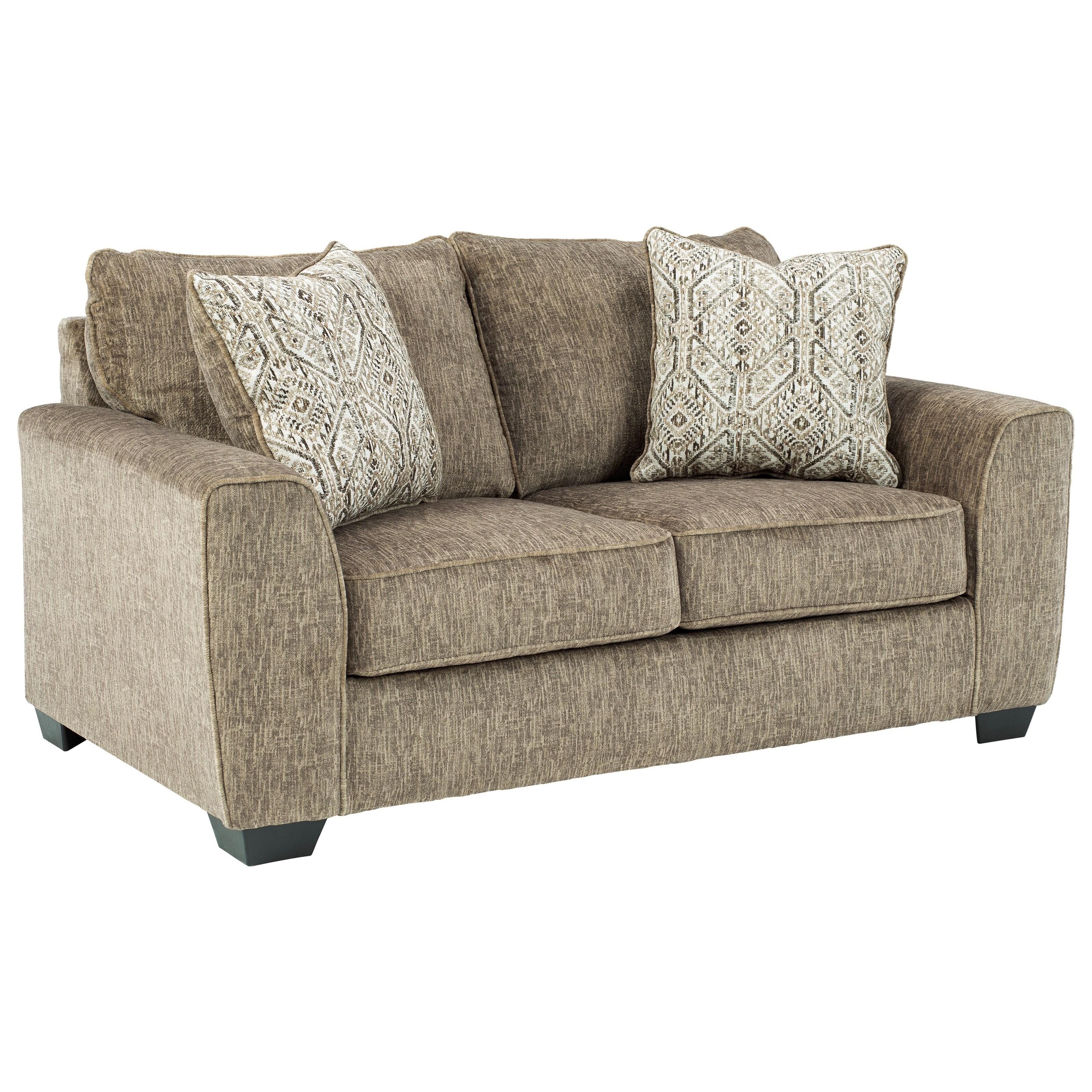 Benchcraft Olin Contemporary Loveseat Wayside Furniture Loveseats