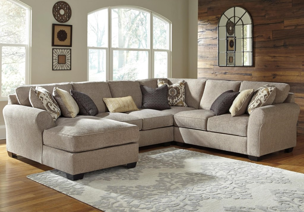 Jb King Gaspar 4 Piece Sectional With Left Chaise Efo Furniture