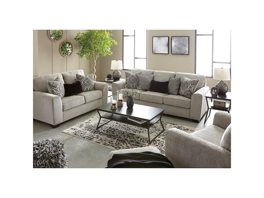 Benchcraft ParlsonStationary Living Room Group