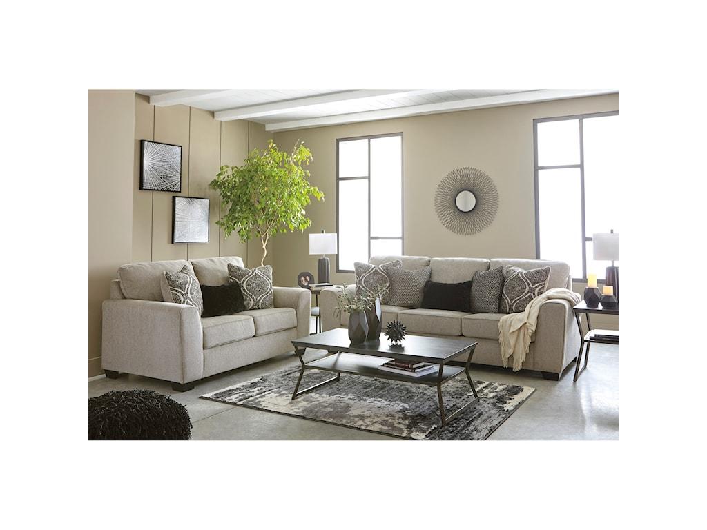 Benchcraft ParlsonQueen Sleeper Sofa