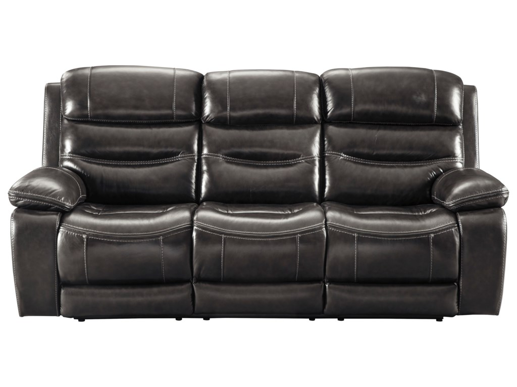 Benchcraft Leather Sofa Furniture Brown Benchcraft Sofa