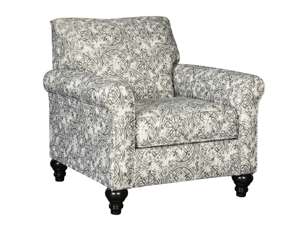 Benchcraft by Ashley Praylor Traditional Accent Chair | Royal ...