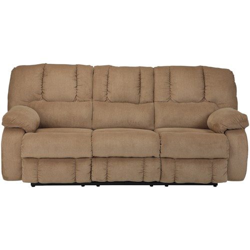 Benchcraft by Ashley Roan Contemporary Reclining Sofa