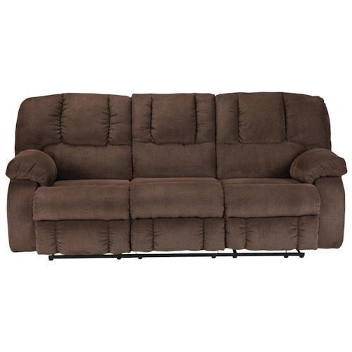 Benchcraft roan contemporary reclining sofa lindy 39 s for Furniture 500 companies