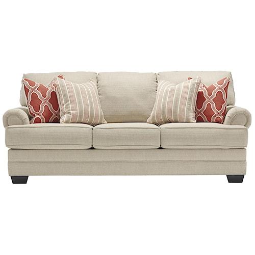 Benchcraft Sansimeon Queen Sofa Sleeper with Memory Foam Mattress