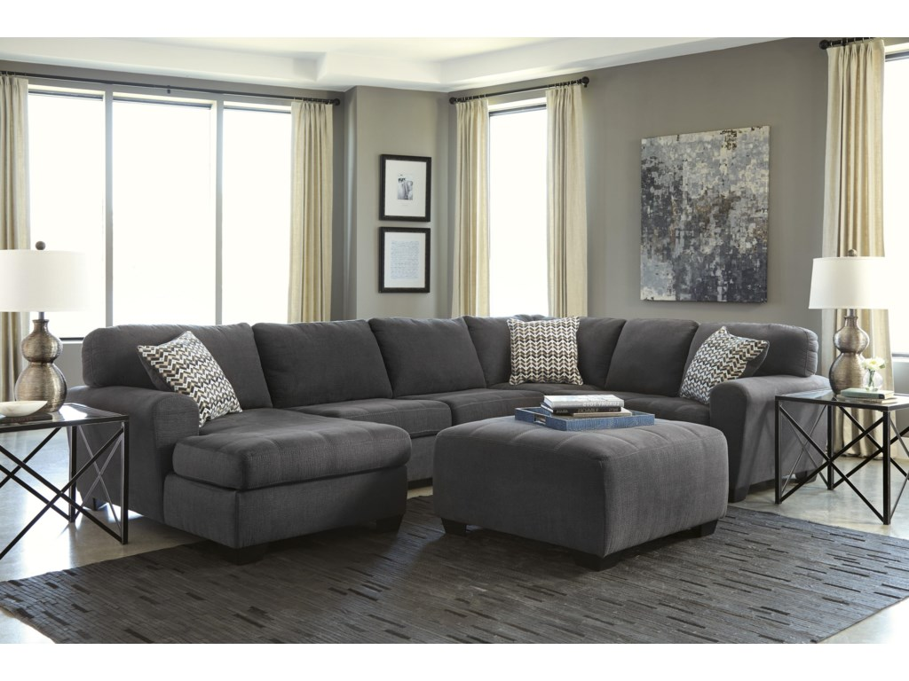 Benchcraft Sorenton3-Piece Sectional with Chaise