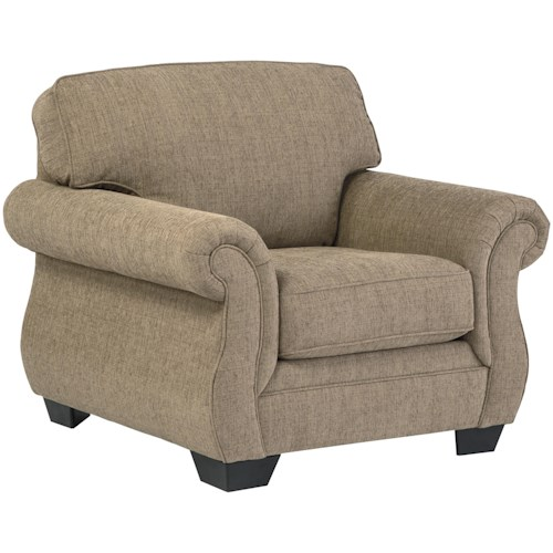 Benchcraft by Ashley Tailya Transitional Chair with Coil Seating