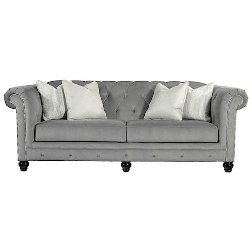 Benchcraft Tiarella Sofa with Luxurious Look