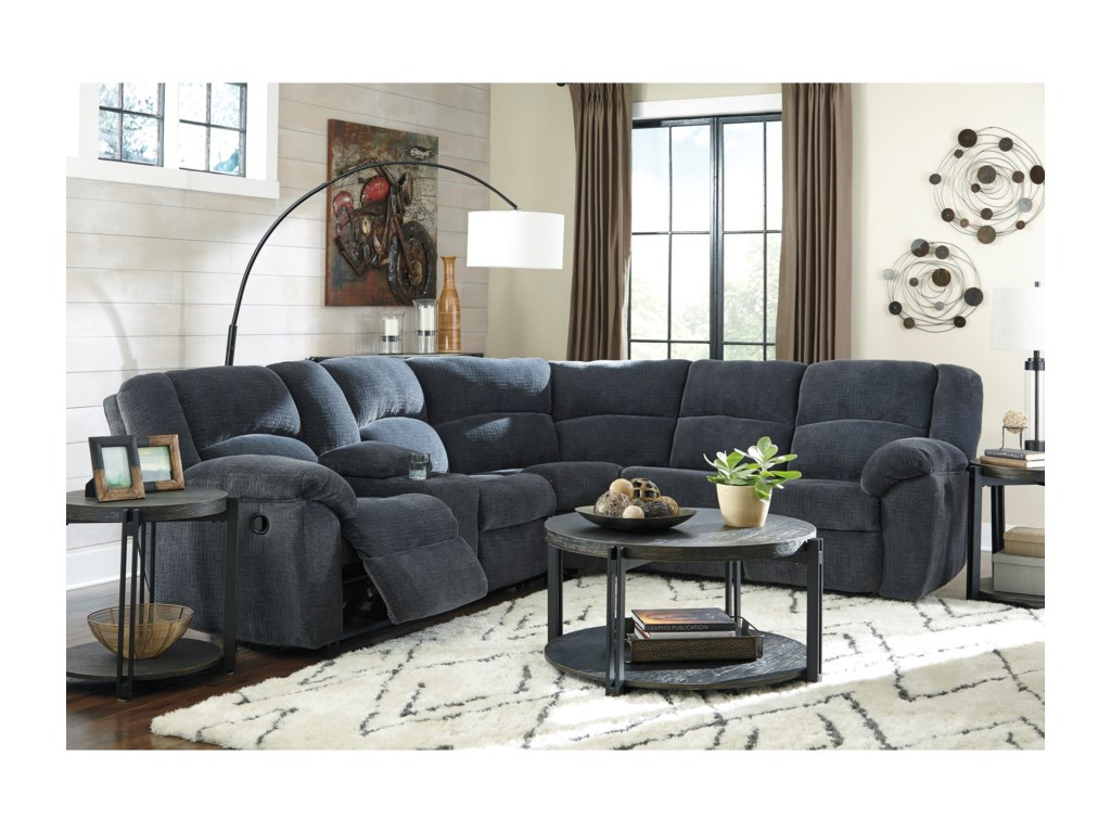 Benchcraft TimpsonReclining Sectional