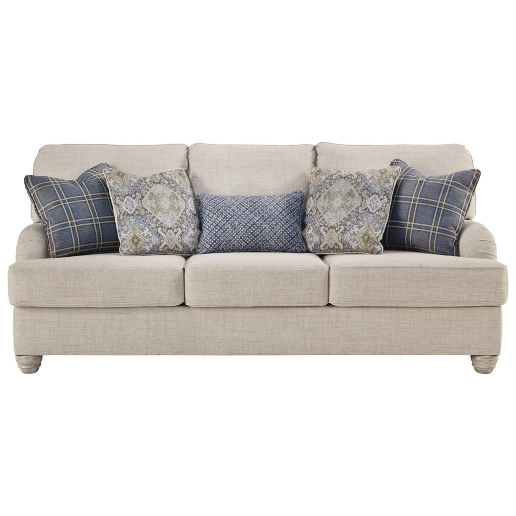 Benchcraft Traemore Queen Sofa Sleeper With English Arms Value