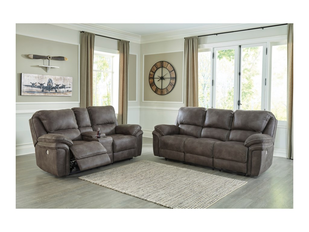 Benchcraft by Ashley TrementonPower Reclining Living Room Group