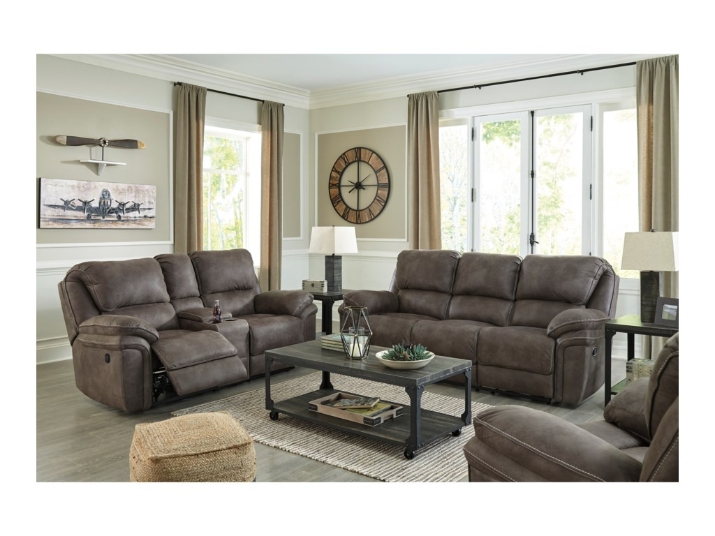 Signature Design By Ashley TrementonReclining Living Room Group
