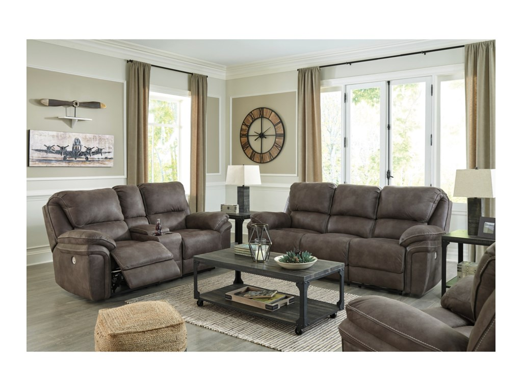 Signature Design By Ashley TrementonPower Reclining Living Room Group