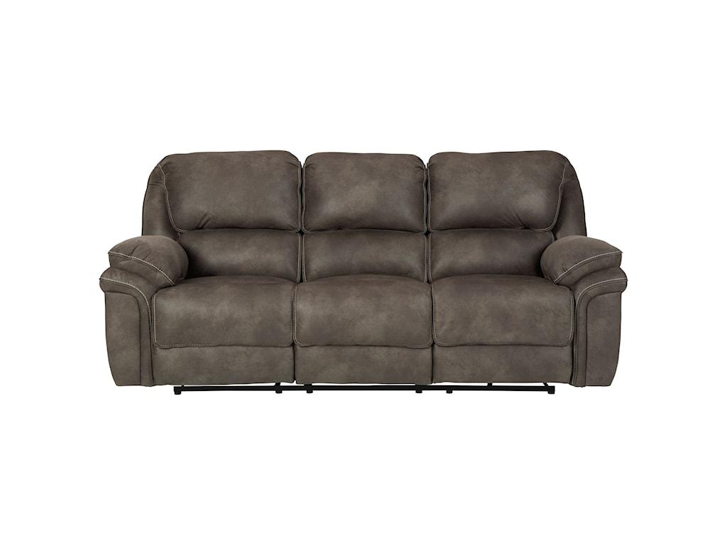 Trementon Faux Suede Reclining Sofa