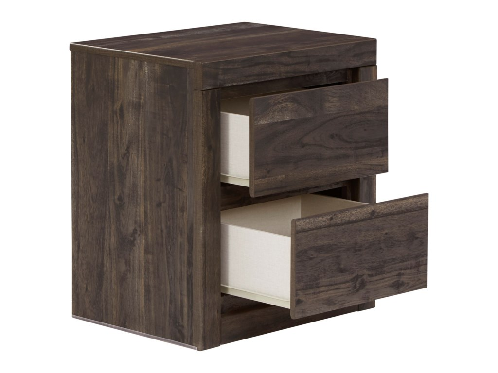Benchcraft Vay Bay2-Drawer Nightstand