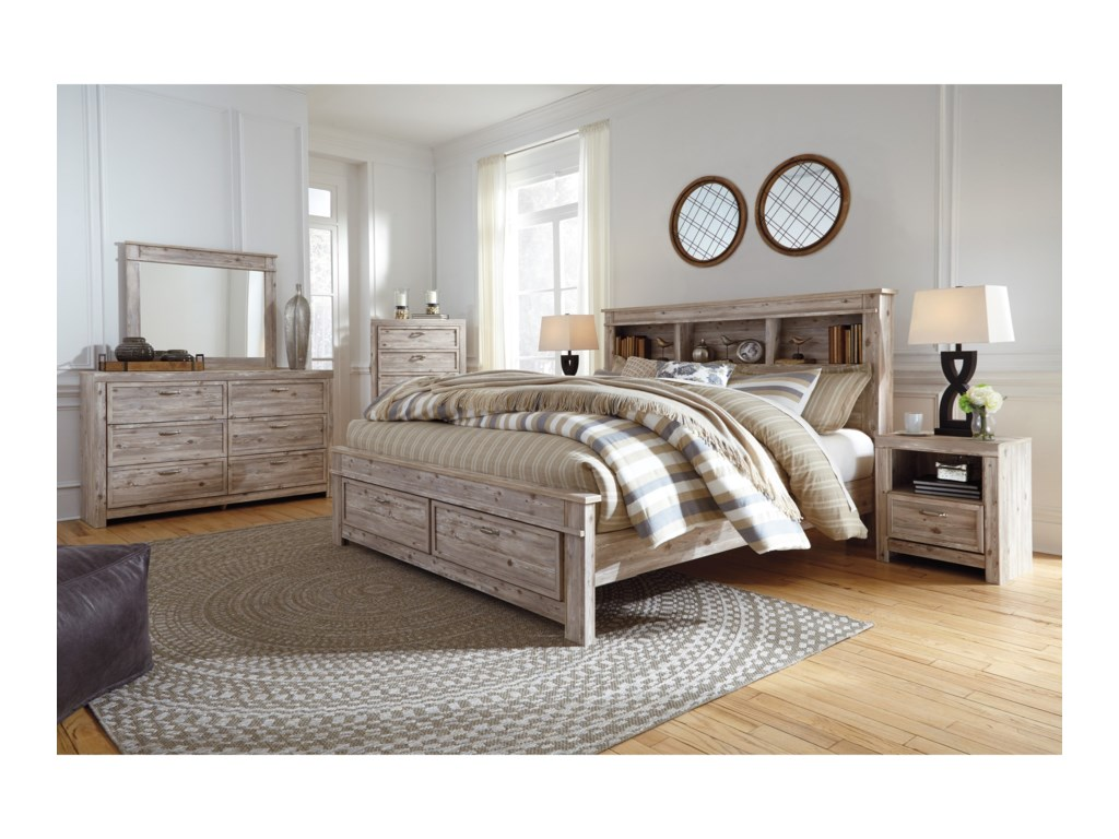 Signature Design By Ashley WillabryKing Bedroom Group