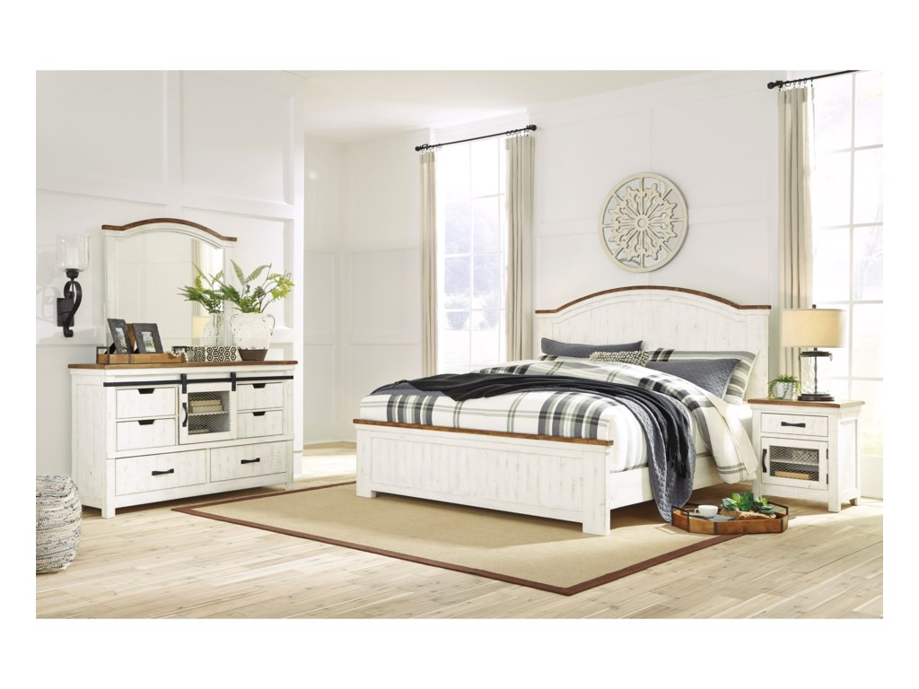 Benchcraft WystfieldQueen Bedroom Group
