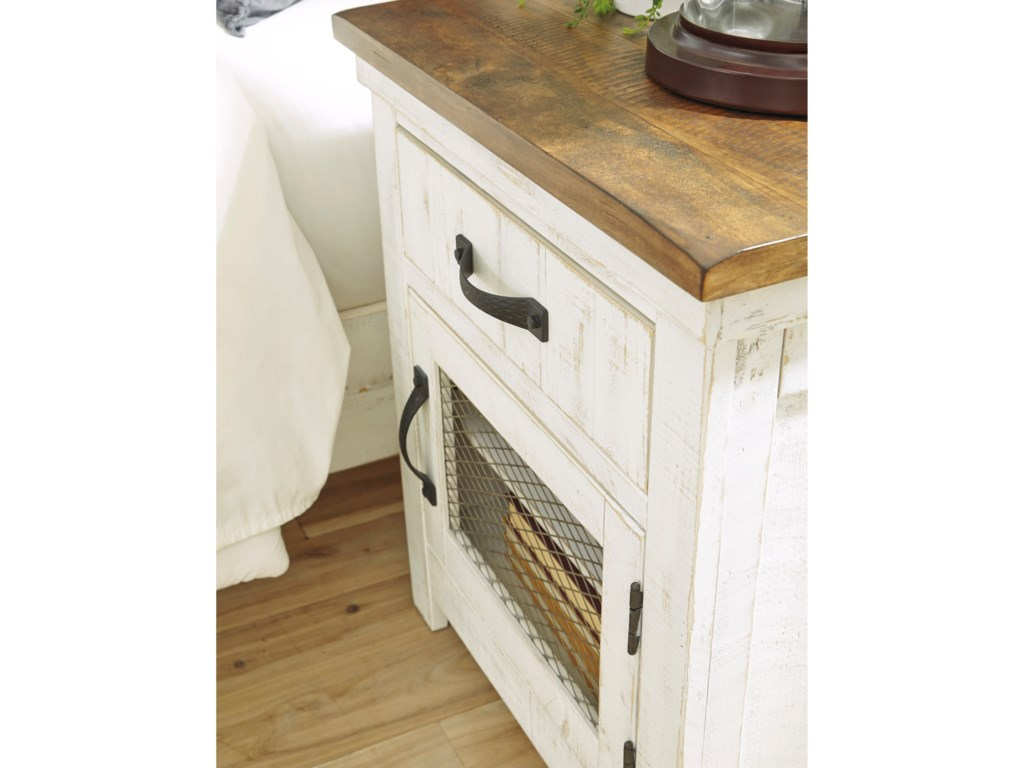 Signature Design By Ashley Wystfield1-Drawer Nightstand