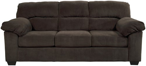 Benchcraft Zorah Casual Contemporary Full Sofa Sleeper with Memory Foam Mattress