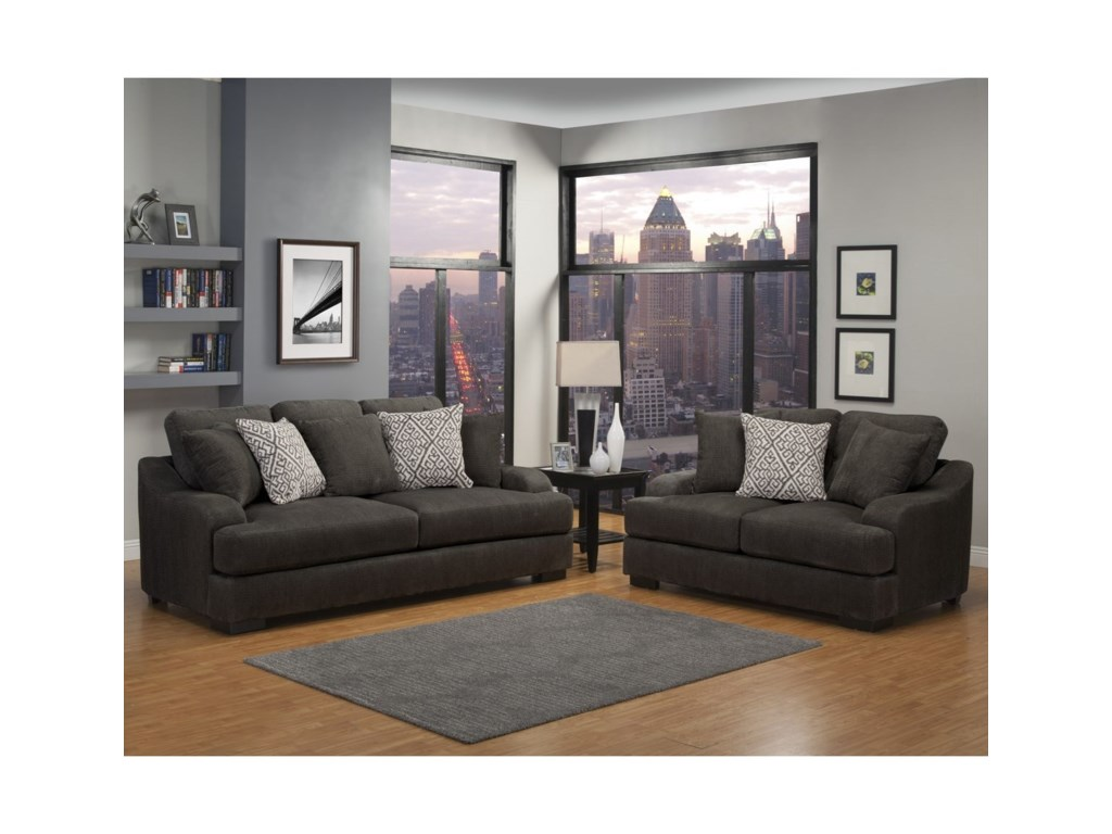 Benchley Furniture Co. RowlandStationary Loveseat