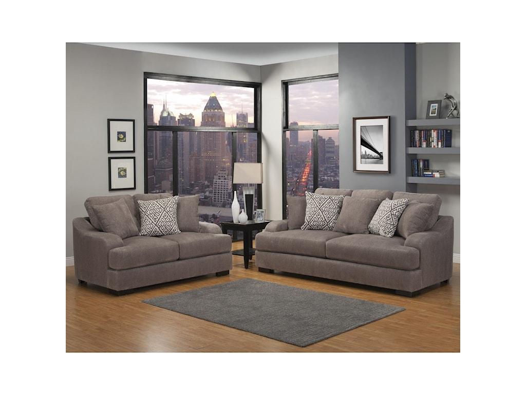 Benchley Furniture Co. RowlandStationary Sofa