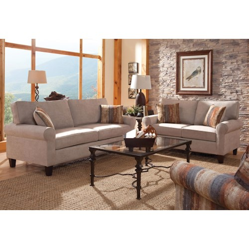 Belfort Essentials Columbia Heights Stationary Living Room Group
