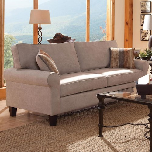 Belfort Essentials Columbia Heights Sofa with Rolled Arms