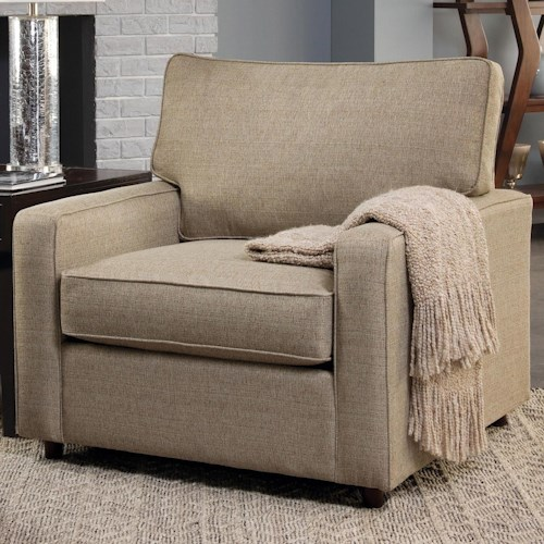 Belfort Essentials Eliot Transitional Upholstered Chair
