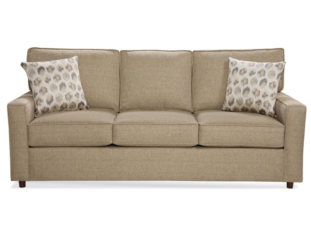 Benchmark Upholstery Eliotqueen Sleeper Sofa