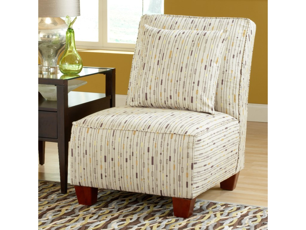 Judson Upholstered Armless Chair by Belfort Essentials at Belfort Furniture