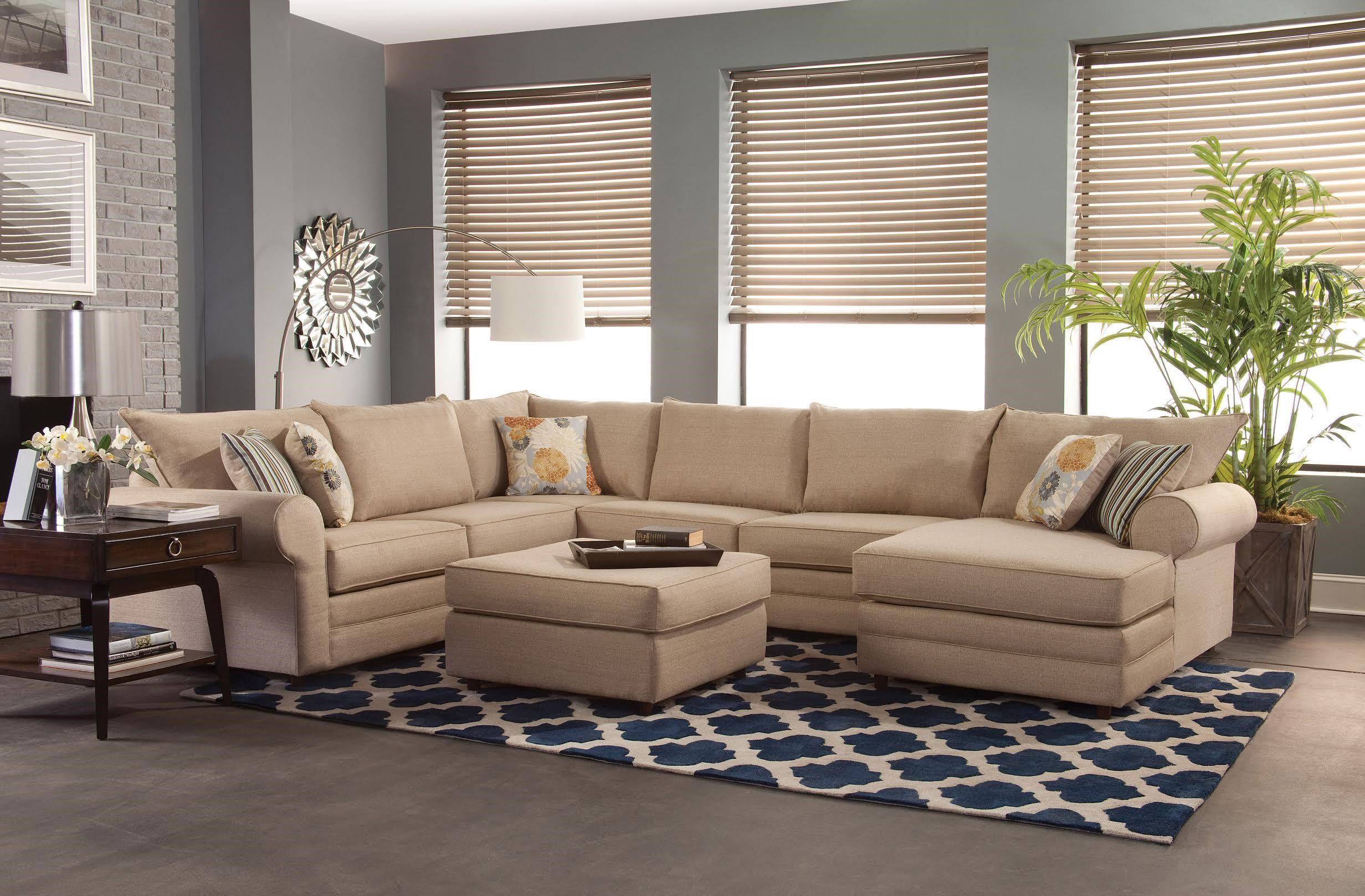 belfort essentials monticello casual sectional sofa - Sofa Sectional