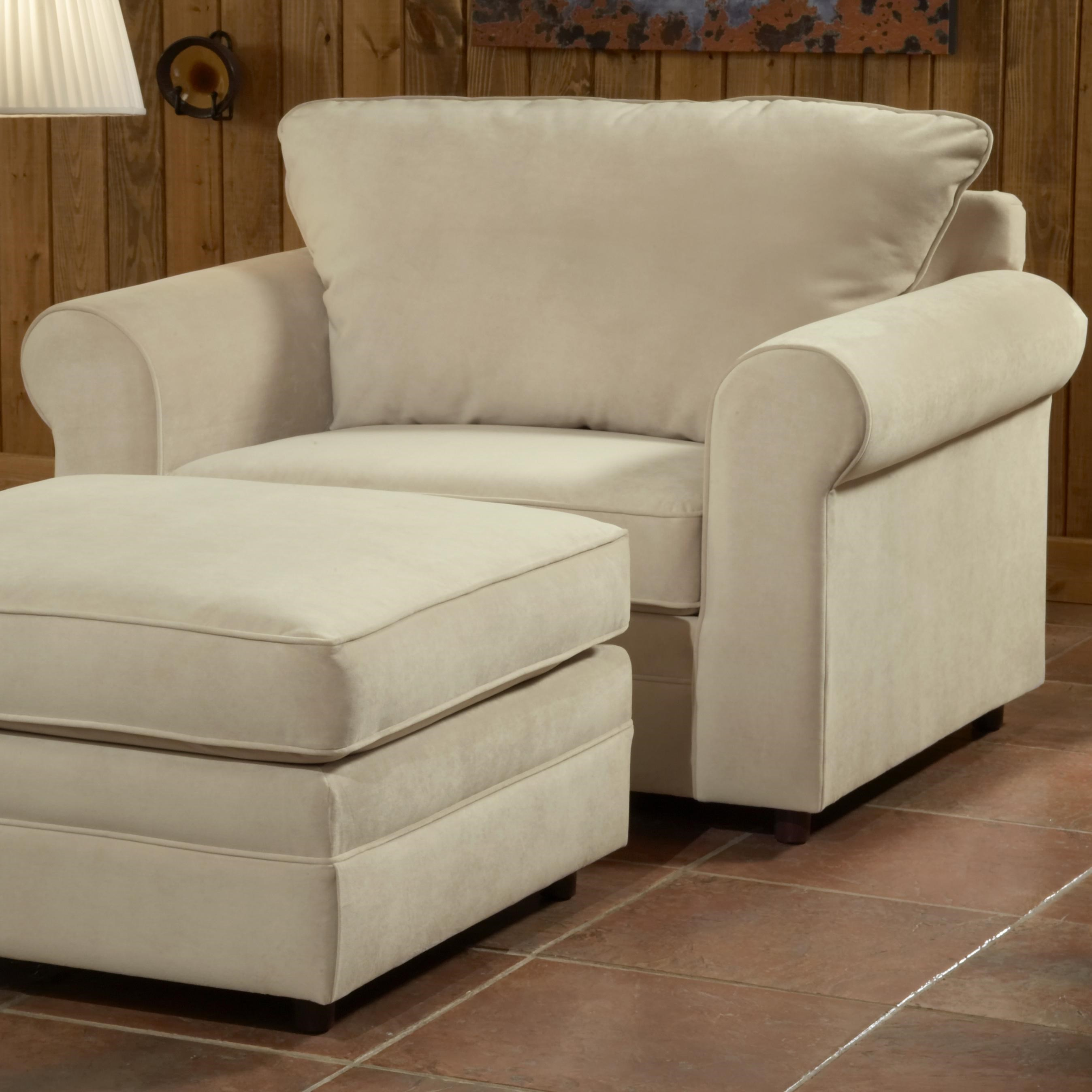 Belfort Essentials Monticello Chair And A Half