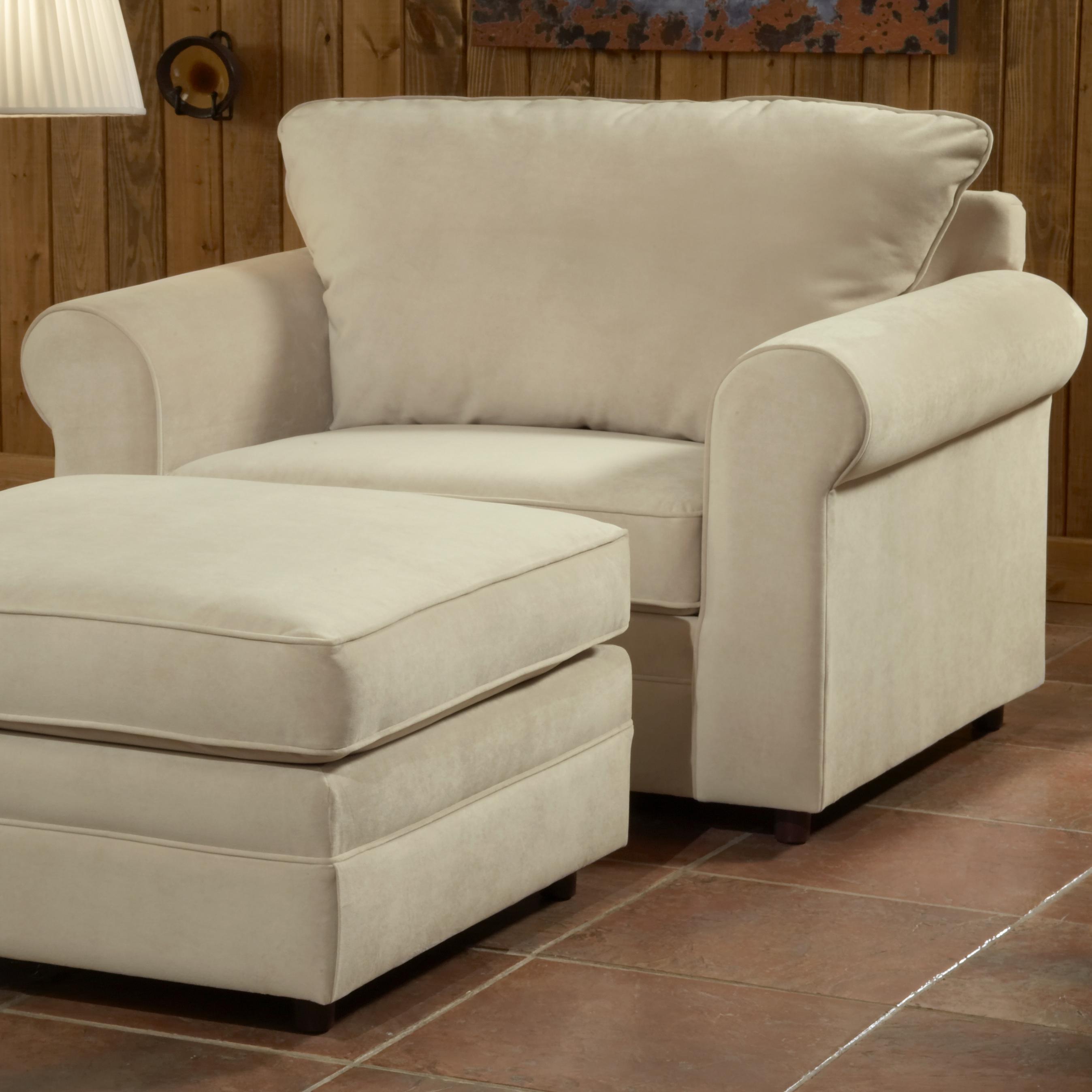 Belfort Essentials Monticello Chair And A Half   Belfort Furniture   Chair  U0026 A Half