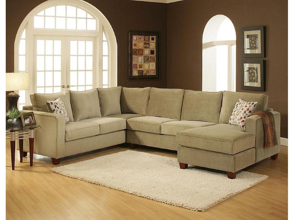 Benchmark Upholstery TenleySectional
