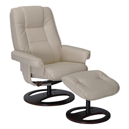 Benchmaster Aberden Chair and Ottoman